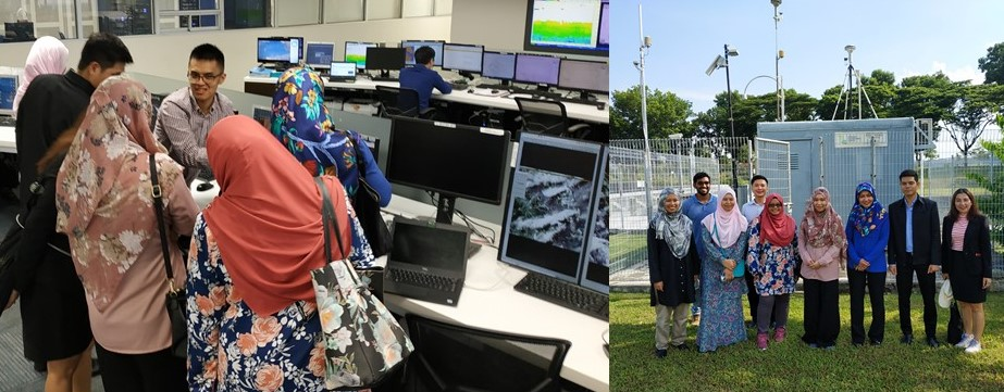 Tour of ASMC operational facilities and visit to air quality station